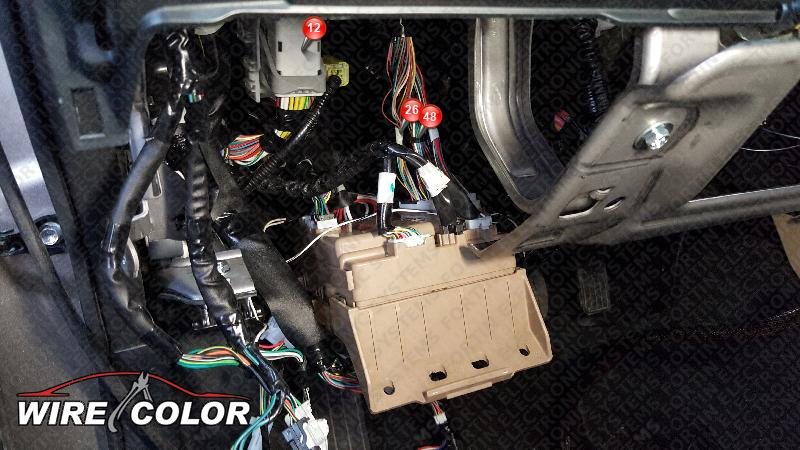 I Need Imo Wire Color And Location On 2017 Subaru Outback